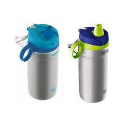 Pogo 12oz Stainless Steel Soft Straw Water Bottle | 24 Hours