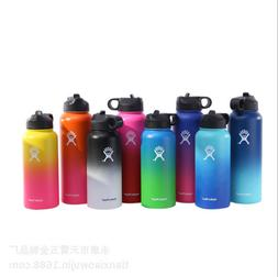 18/32/40OZ HydroFlask Insulated StainlessSteel Water Bottle