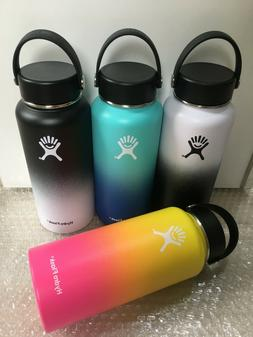 18/32/40oz Hydro Flask Insulated StainlessSteel WideMouth Wa