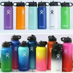 18/32/40oz Hydro Flask Wide Mouth Stainless Steel Water Bott