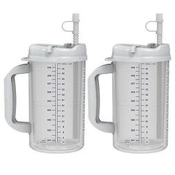 2 32 oz whirley insulated mugs