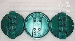 """3-Electron Jade Replacement lids and 3-11"""" Flexible Straws f"""