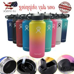 32/40 oz Hydro Flask Wide Mouth Insulated Sport Water Bottle