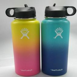 32/40oz Hydro Flask Insulated Stainless Steel Wide Mouth Wat