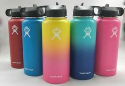 32/40oz Hydro Flask Insulated Wide Mouth Stainles Steel Watt