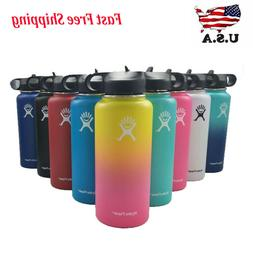 Hydro Flask 32/40oz Water Bottle with Straw Lid Insulated St