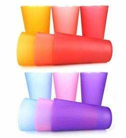 32-ounce Plastic Tumblers/Large Drinking Glasses/Party Cups/
