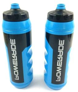 Powerade 32 ounce Sports Clutch Water Bottle with Squeeze Ca