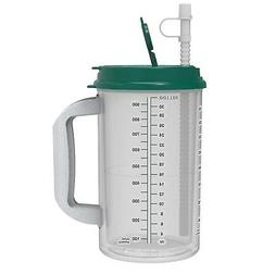32 oz Hospital Mug with Electron Jade Lid - Insulated Cold D