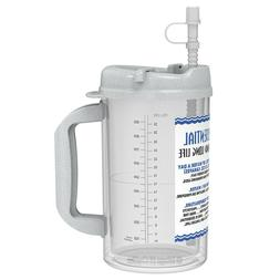 32 oz Insulated Water Essential Mugs with Straw and Cap   Ho