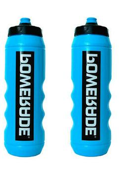 Powerade 32 oz Sports Clutch Water Bottle with Squeeze Cap -
