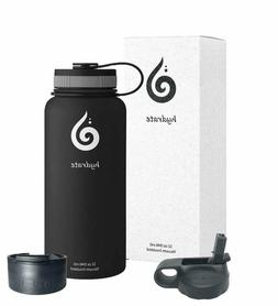 Hydrate 32 oz Stainless Steel Water Bottle. Comes with Addit