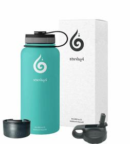 32 oz stainless steel water bottle comes