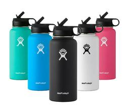 Hydro Flask 32 oz Stainless Steel Water Bottle with Straw Li