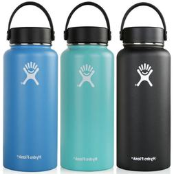 32oz Hydro Flask Flex Cap Bottle Insulated Straw Lid Stainle