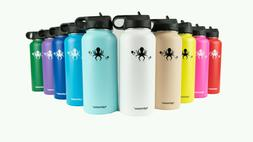 32oz Hydrasanus hydro double wall stainless steel insulated