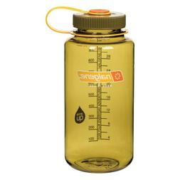 Nalgene 32oz Tritan Wide Mouth Bottle Olive #341846