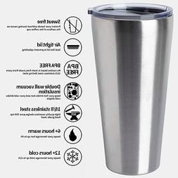 32oz Tumbler Double Wall Vacuum Insulated Coffee Cup Stainle