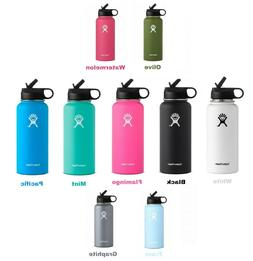 Hydro Flask_32oz Wide Mouth Water Bottle Stainless Steel Ins