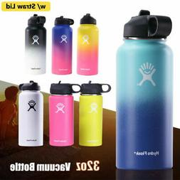 Hydro Flask 32oz Watter Bottle Wide Mouth Stainless Steel Cu