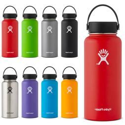 Hydro Flask 32oz Wide Mouth Bottle in 9 Different Colors NEW