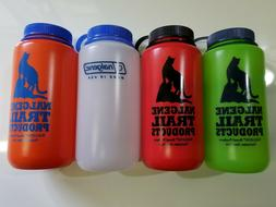 Nalgene 32oz Wide Mouth HDPE Water Bottle, 4 Colors Availabl