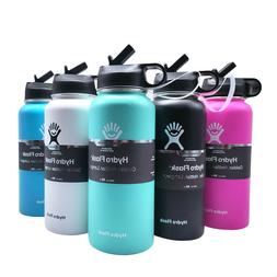 Hydro Flask 32oz Wide Mouth Sports Water Bottle with Straw L