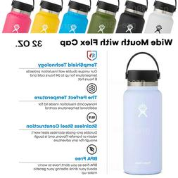 Hydro Flask 32OZ Wide Mouth with Flex Cap 2.0,Stainless Stee