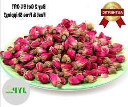 4oz-32oz All Natural Premium Dried WHOLE Red Rose Buds, USA