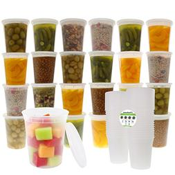 Freshware Food Storage Containers with Lids  - Plastic Conta