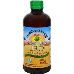 Lily Of The Desert Gel Aloe Vera With Low fat Organic, 32 oz