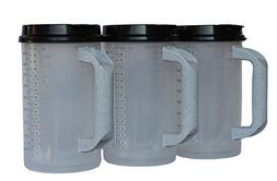 32 oz Insulated Hospital Mugs with Black lids | BPA FREE!