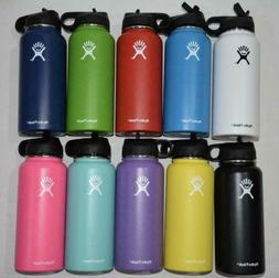 Brand New Hydro Flask Wide Mouth Lid Straw Choose Your Color