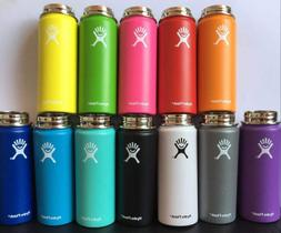 Brand New Hydro Flask Wide Mouth W/ Lid Straw Choose Color!