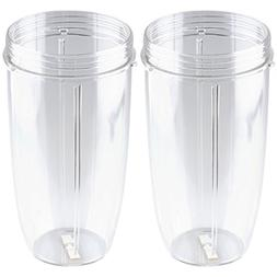 2 Pack 32 oz Colossal Cups Replacement for Nutribullet NB-10
