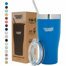 Healthy Human 20 oz Cruiser Stainless Steel Tumbler Cup - Ba