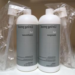 Living Proof FULL Shampoo & Conditioner Duo Set ~ 32 oz/1 Li