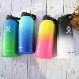 Gradient Color Hydro Flask Water Bottle Wide Mouth Stainless