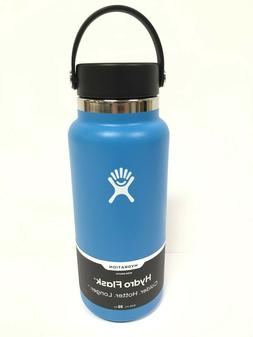 Hydro Flask Graphite Wide Mouth 32 oz Flex Cap Steel Flask b