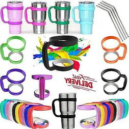 Handle for 30 Oz Tumblers Holder Coffee Cup Lids Straws Tumb