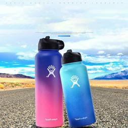Hydro Flask Stainless Steel water Bottle with Wide Mouth Cap