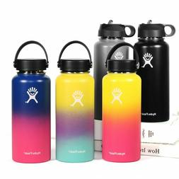 hydro flask wide mouth water bottle straw