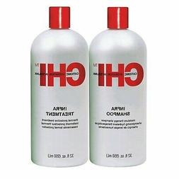 CHI Infra Shampoo & Treatment 32oz DUO SET  Free 2-Day Shipp