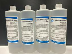 Isopropyl Alcohol  99% Anhydrous 4 BOTTLES 32 OZ.EACH 128OZ