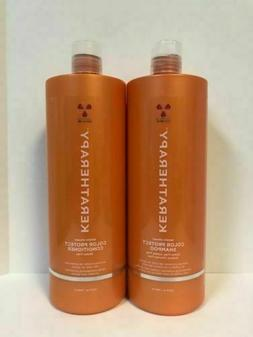 Keratherapy Keratin Infused Color Protect Shampoo and Condit