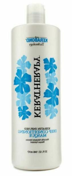 Keratherapy Keratin Infused Deep Conditioning Masque 946Ml/3