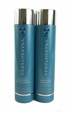 keratin infused moisture shampoo and conditioner 10oz