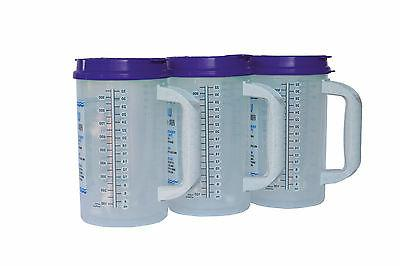 3 32 oz water essential insulated mugs