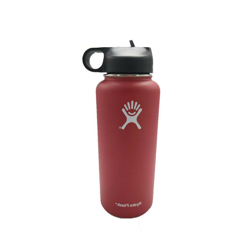 32/40oz Flask Sport Stainless Steel Insulated With Lid