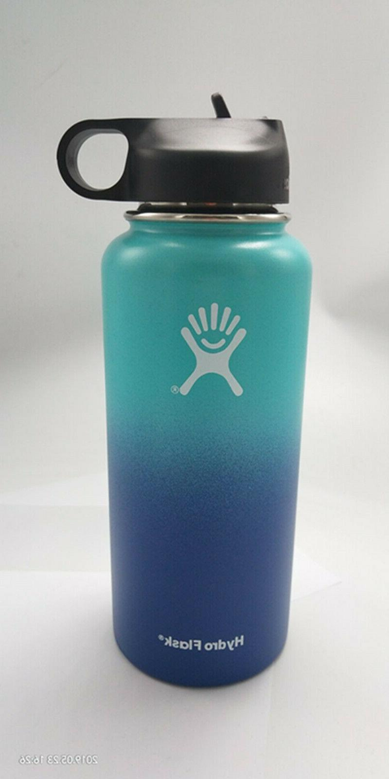 32/40oz Hydro Flask Insulate Stainless Water W/Straw Lid